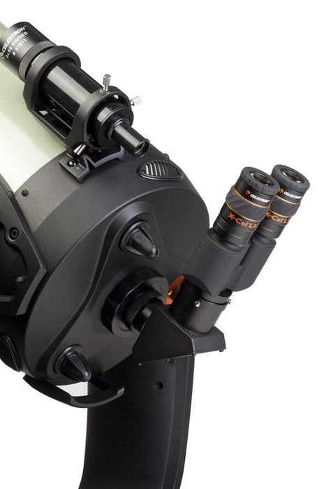 Celestron Stereo Binocular Viewer - with eyepieces and attached to a telescope
