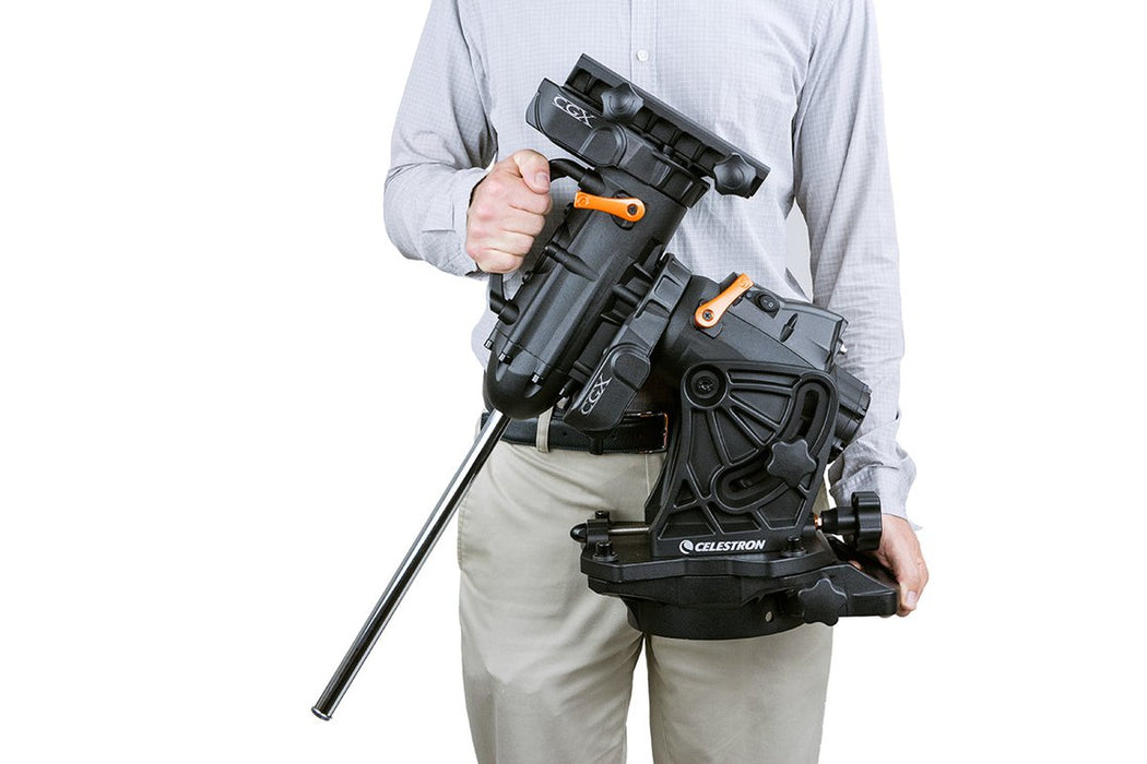 Celestron CGX Equatorial Mount and Tripod - carry handles