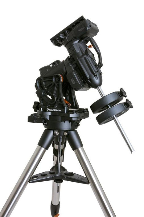 Celestron CGX Equatorial Mount and Tripod - side view