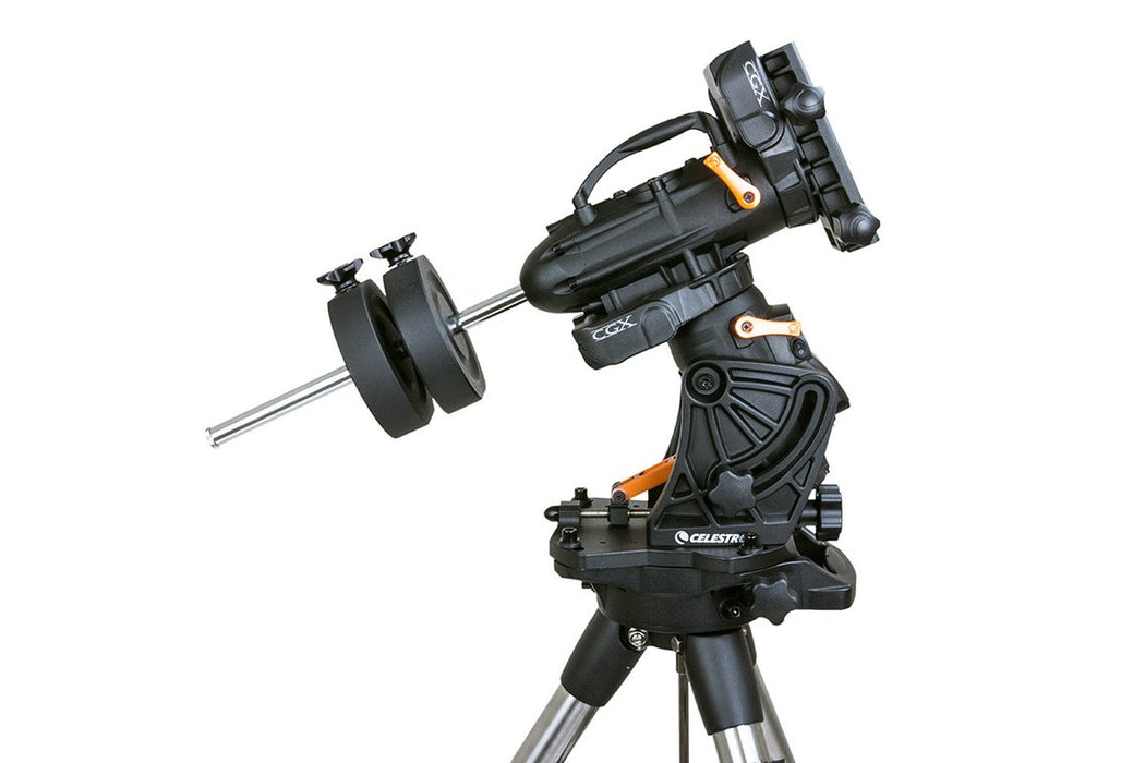Celestron CGX Equatorial Mount and Tripod - high latitude setting