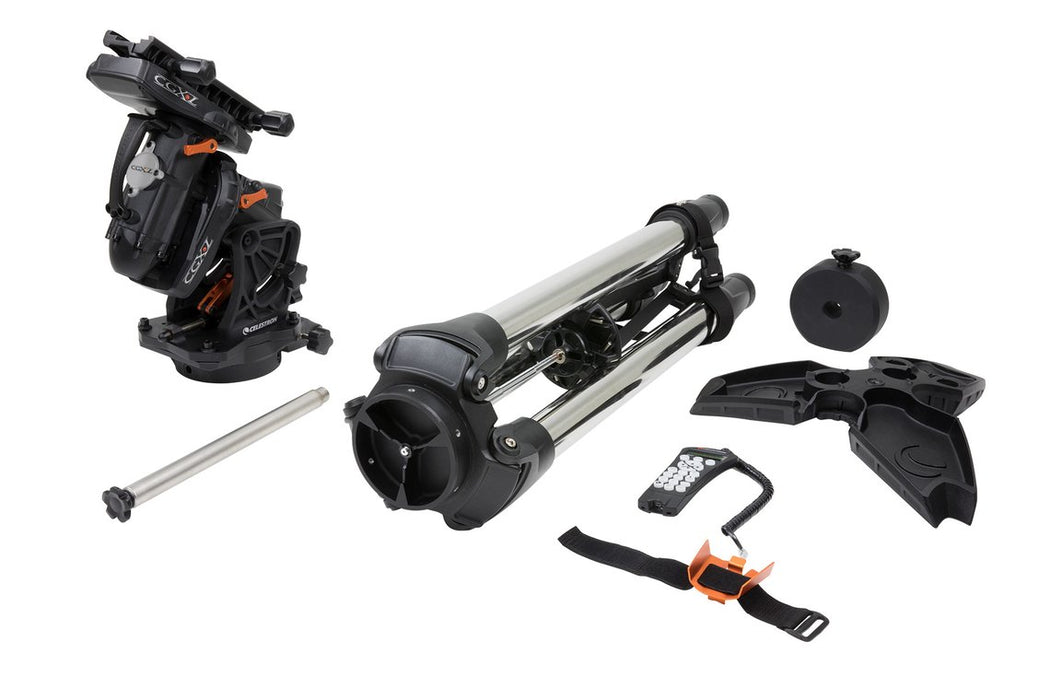 Celestron CGX-L Equatorial Mount and Tripod - with accessories