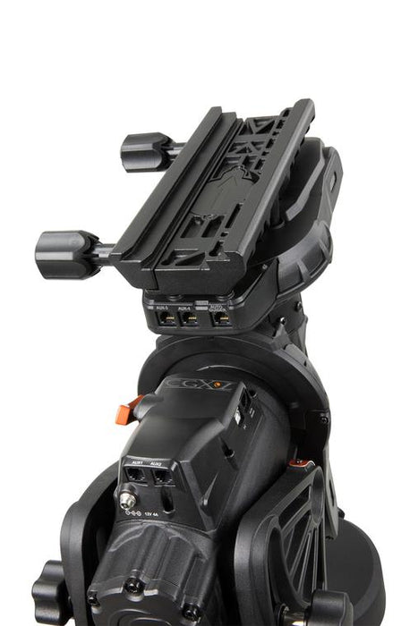 Celestron CGX-L Equatorial Mount and Tripod - dual saddle