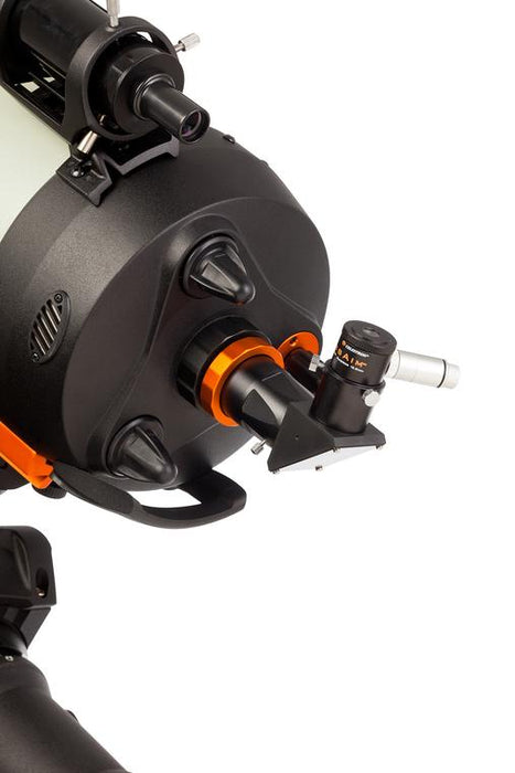 Celestron CrossAim 12.5mm Reticle with Illuminator - example set up attached to a telescope