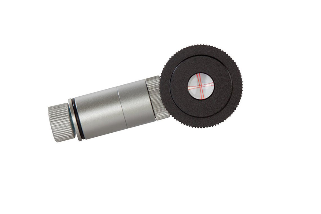 Celestron CrossAim 12.5mm Reticle with Illuminator - looking into the barrel with crosshairs easily visible