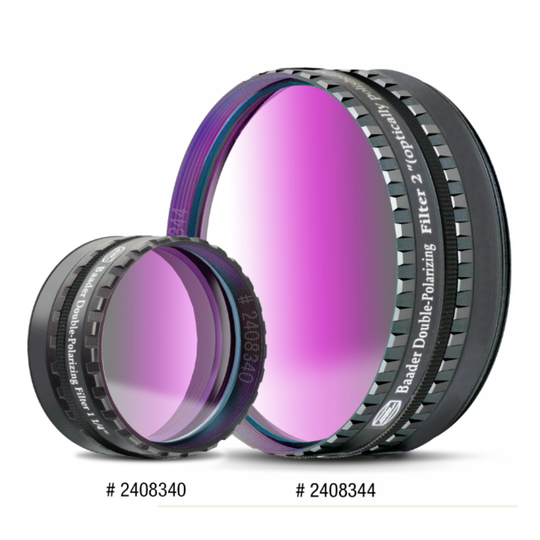 Baader Double Polarising Filters