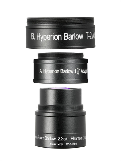 Baader Hyperion Zoom 2.25x Barlow Lens