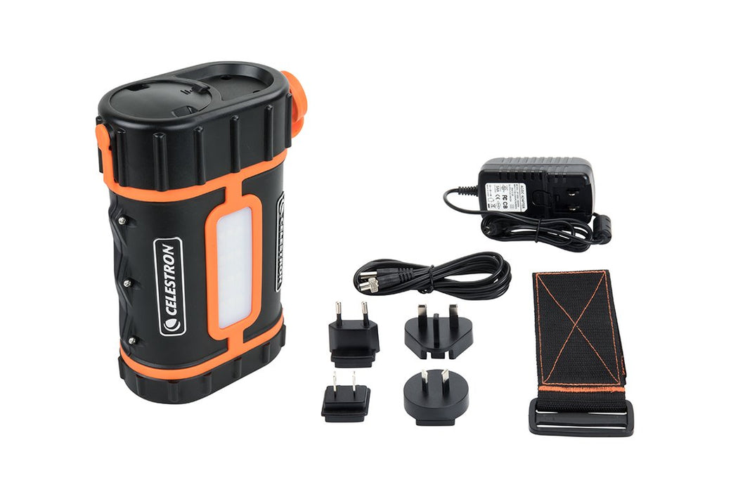 Celestron Lithium PowerTank Pro - accessories supplied