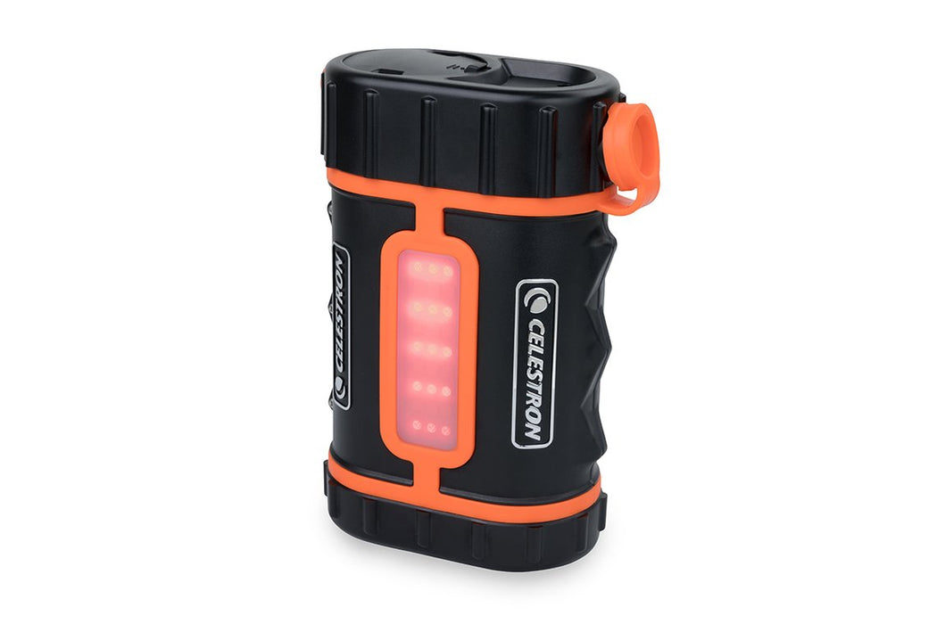 Celestron Lithium PowerTank Pro - with red LED's on