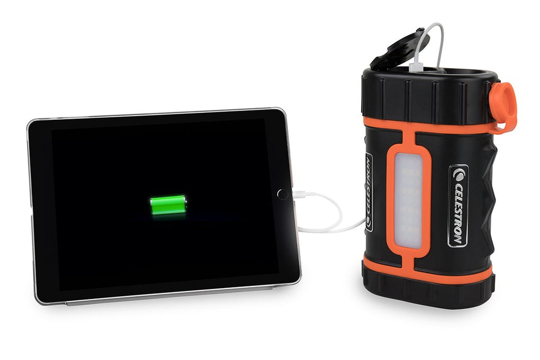 Celestron Lithium PowerTank Pro - charging a mobile device
