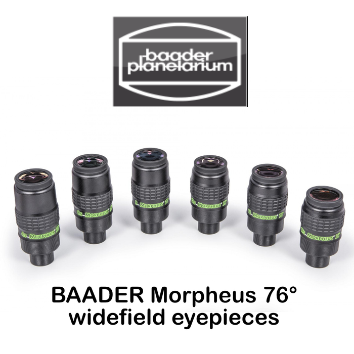 Baader Morpheus 76° Eyepiece Set (Complete)