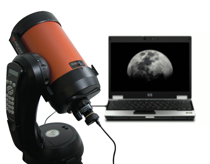 Celestron NexImage 5MP Colour Solar System Imager - example set up