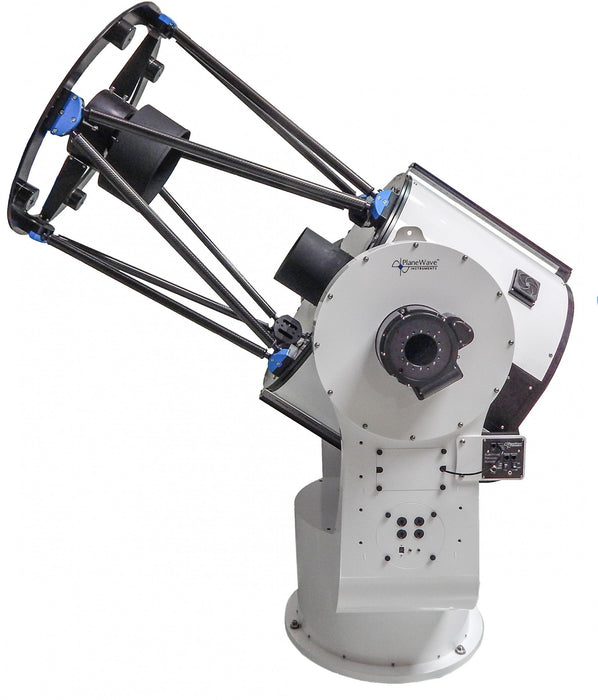 PlaneWave CDK700 alt-az telescope side view