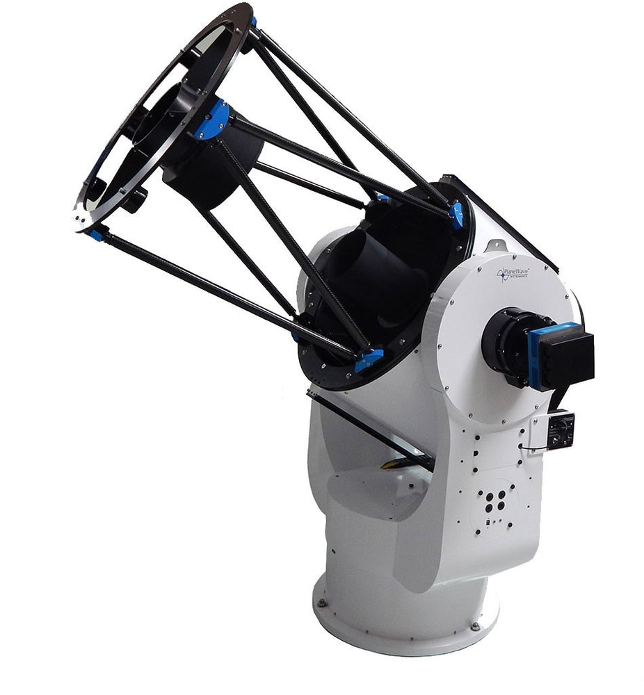PlaneWave CDK700 alt-az telescope with optional ccd camera