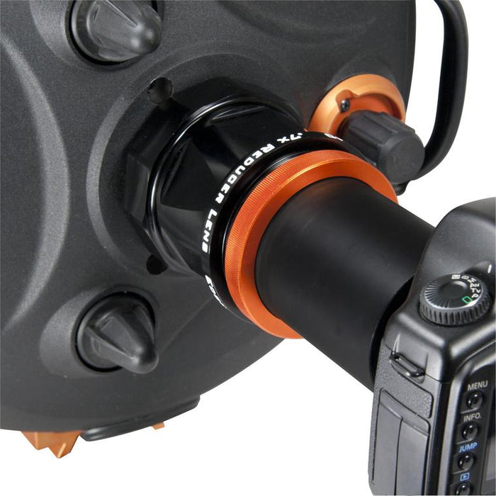 Celestron 0.7x Reducer Lens for Edge HD - attached to a telescope