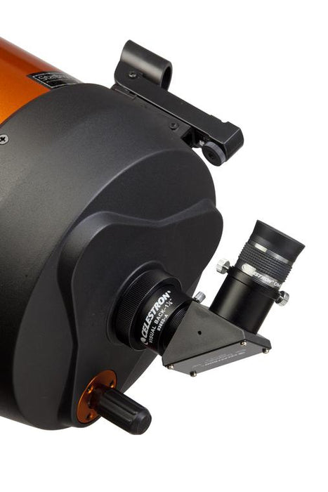 "Celestron 1.25"" Star Diagonal - attached to a telescope"