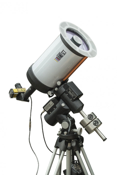 Baader Triband SCT with SolarSpectrum H-alpha system and mounted on a 10Micron mount