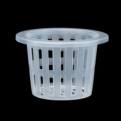 White Net Pots * Extra Wide Lip * 3.94 inch opening - Qty 10