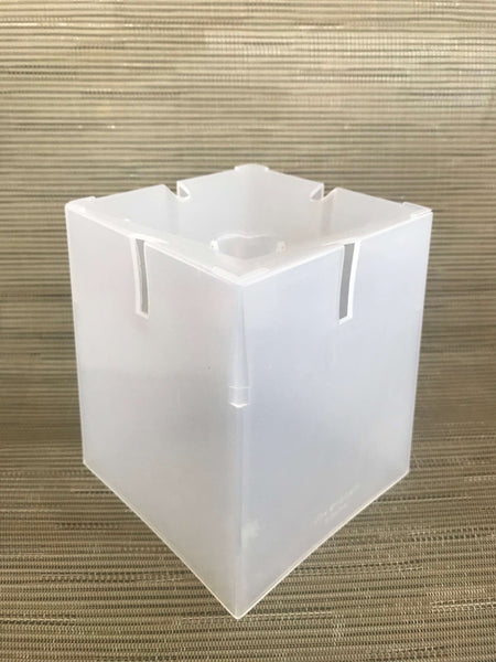 "CLEAR SQUARE  Rands Aircone Pots - 6"" Orchids Pots"