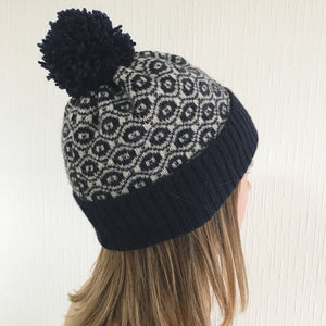 05de07d6d5886 Bobble Hat - Ogee. Bobble Hat - Ogee - Little Knitted Stars