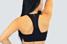 Load image into Gallery viewer, Onyx Racerback Sports Bra
