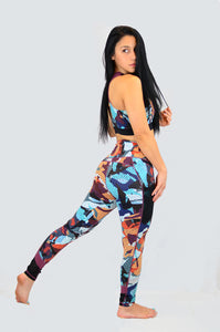 Highwaist Cosmic Camo Leggings