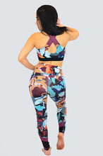 Load image into Gallery viewer, Cosmic Camo Sports Bra