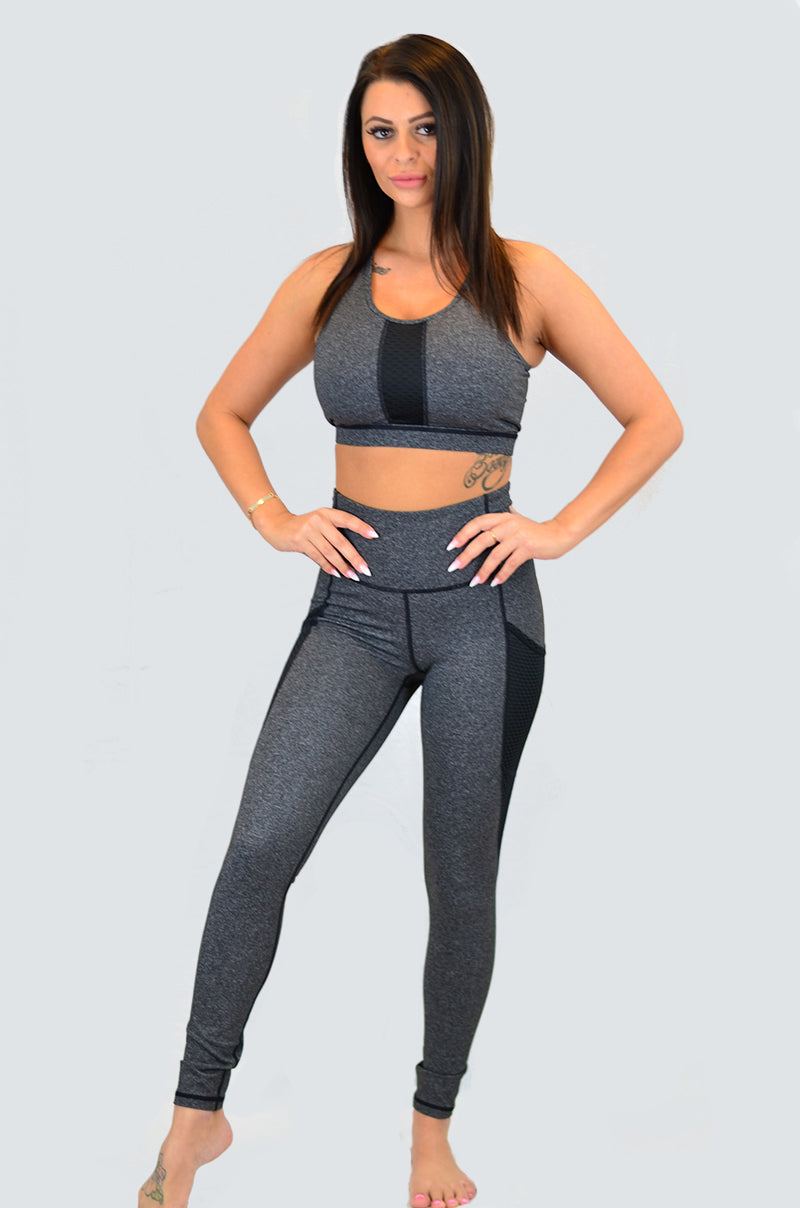 Highwaist Graphite Leggings
