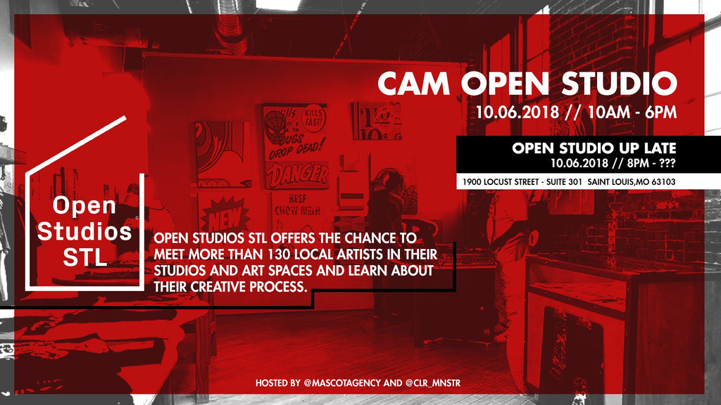 Event Happenings + CAM Open Studios