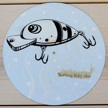 JUSTIN TOLENTINO | Nothing Fishy Custom Painted Vinyl