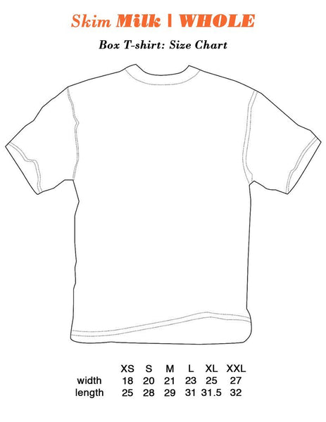 SKIM MILK | ANartist Tee White