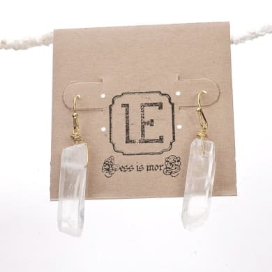 LESS IS MORE | Clarity Earrings