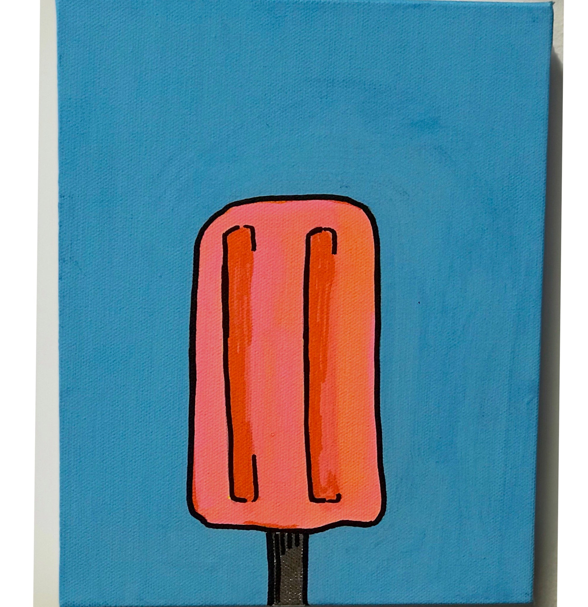 JUSTIN KING | Popsicle Mini Canvas