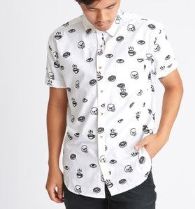 PYKNIC | MEN'S Morning Glory Button Button Up Top