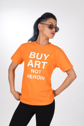 SKIM MILK | Buy Art Not Heroin Tee