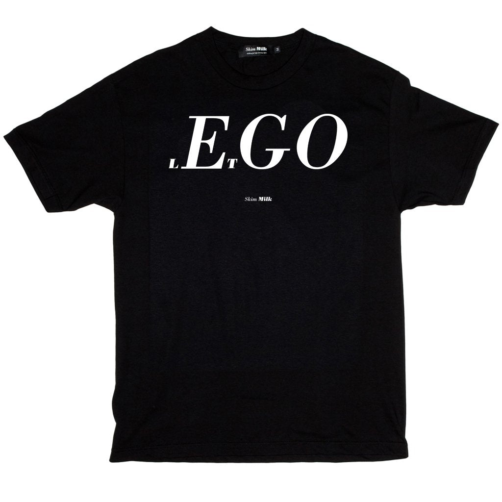 SKIM MILK | lEtGO Tee in Black