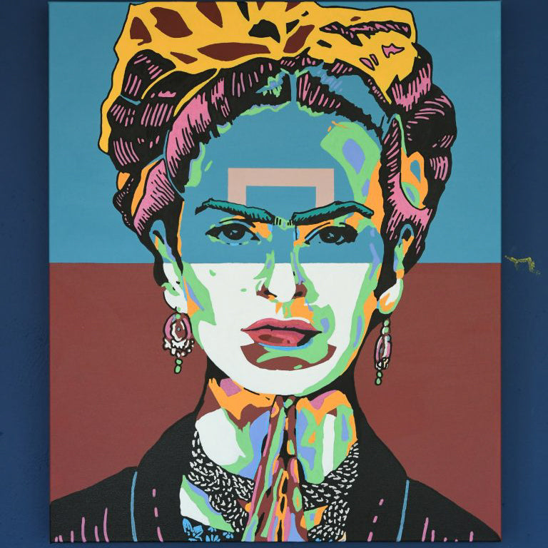 JUSTIN KING | FRIDA ACRYLIC ON CANVAS 20X24