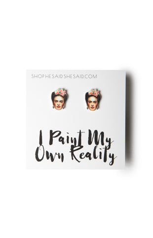 HE SAID, SHE SAID | Frida Kahlo Earrings