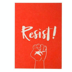 HE SAID, SHE SAID | Resist! 5x7 Art Print