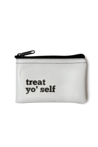 HE SAID, SHE SAID | Treat Yo' Self Vinyl Zip Pouch