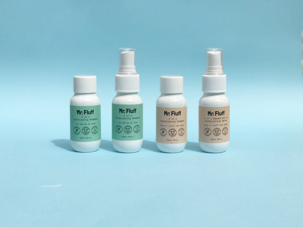 Sample Fluff Pack | Travel Kit | 4 x 50ml bottles
