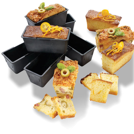 Replacement Exoglass Cake Moulds 6 Pack For Tray Item 347060 - Pack of 6  (Matfer Bourgeat)