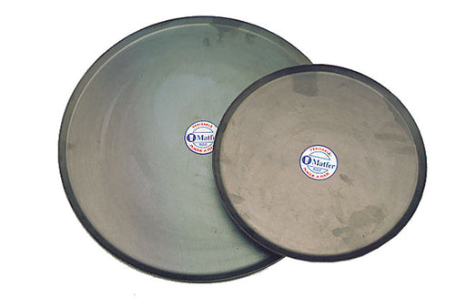Round Oven Sheet - Black Steel  (Matfer Bourgeat)