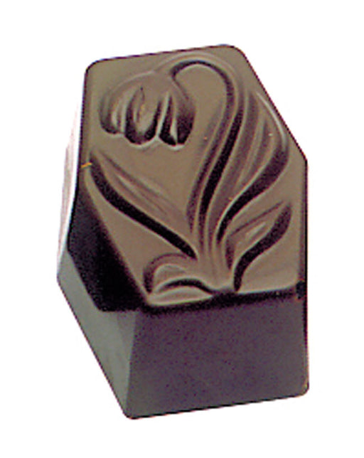 Chocolate sheet -tulip on rectangle  (Matfer Bourgeat)