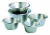 Mixing bowl - flat bottom: 9 1/2 in. Flat Bottom Stainless Steel Mixing Bowl - 4 quart