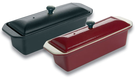 Chasseur ENAMELLED cast iron rectangular terrine  (Matfer Bourgeat)