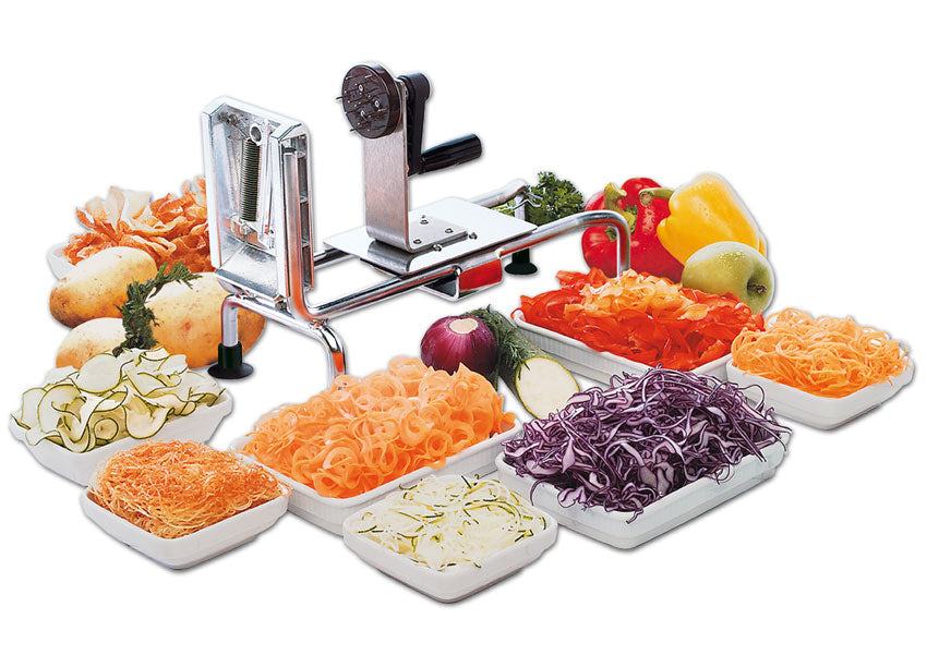 Spiral Vegetable Slicer - Le Rouet 4030Clr  (Matfer Bourgeat)