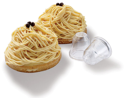 Bird Nest Pastry Tips . Pack Of 2.  (Matfer Bourgeat)