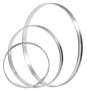 STAINLESS STEEL TART RING  (Matfer Bourgeat)
