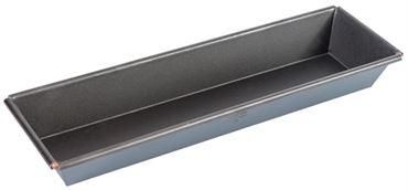 EXOPAN STEEL NON-STICK RECTANGULAR FLARED BRIOCHE MOLD  (Matfer Bourgeat)
