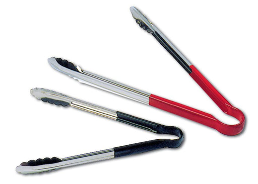 ALL-PURPOSE TONGS WITH NON-SLID PVC HANDLE  (Matfer Bourgeat)